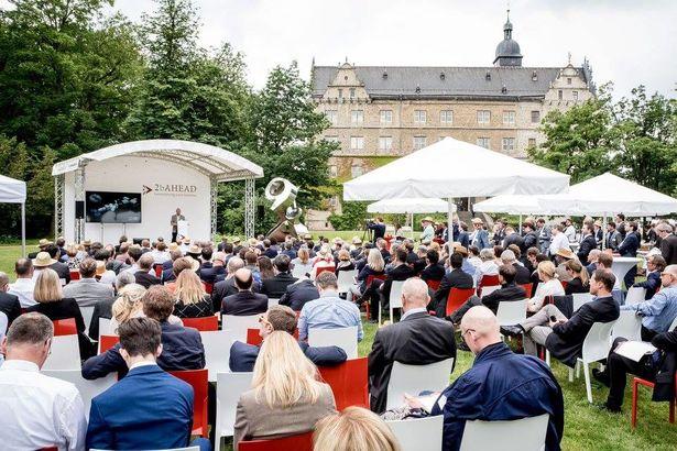 Schlossgarten Wolfsburg, Kulisse des 2b AHEAD Zukunftskongresses