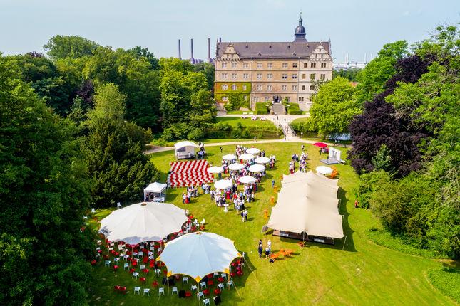 Bei Kaiserwetter startete der Zukunftskongress - Foto: Andreas Lander