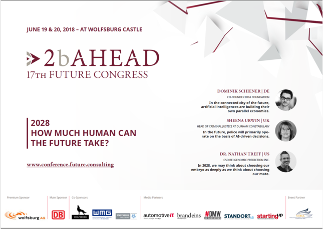 Program Flyer Future Congress 2018