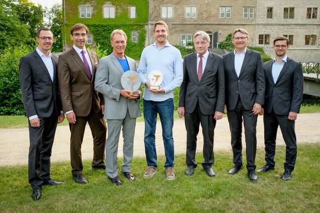 Awardverleihung - Preisträger und Sponsoren